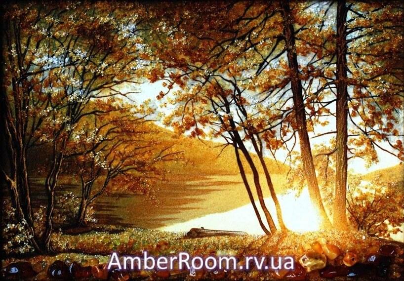 картины из янтаря от amberroom.rv.ua