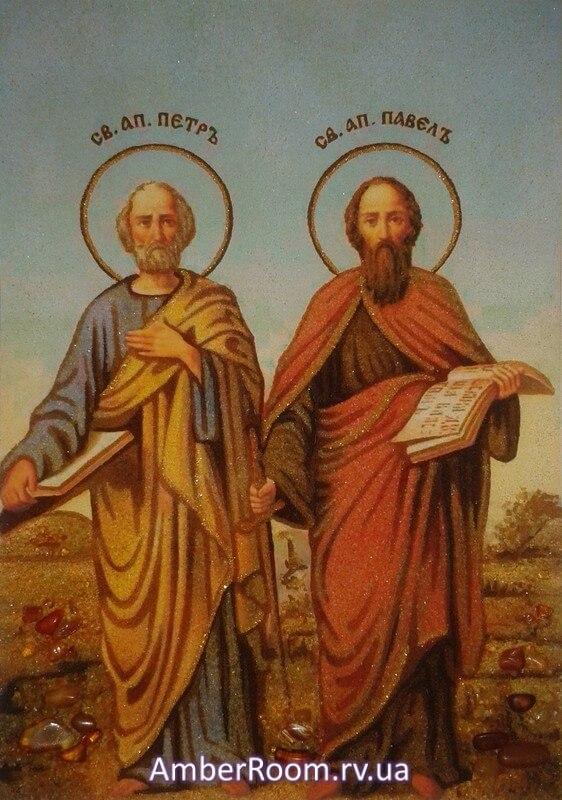Картинки по запросу ікона Петро і павло
