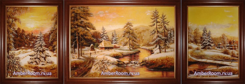 Картины из янтаря от amberroom.rv.ua/ru