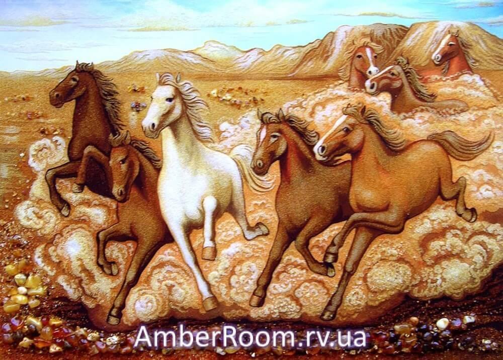 Картины из янтаря от «Янтарная комната»